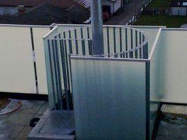 Zunanje okrogle stopnice s steklenim nadstreškom-zunanje-stopnice-kljucavnicarstvo-marincic-categories_9_319